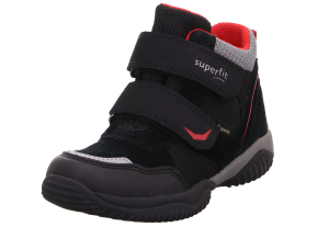Superfit Storm Gortex Boys Ankle Boots Black/Red