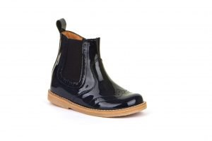 Froddo Chelsea Boots Blue Patent