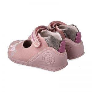 Biomecanics 201115 Baby Girl Pink Leather Shoe