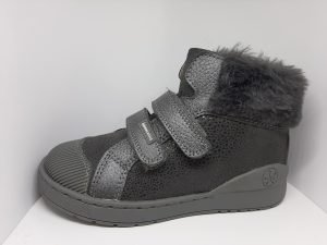 Biomecanics Girls Ankle Boots Grey/Silver