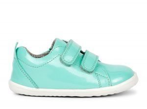 Bobux Waterproof Grass Court Baby Girls Sneakers Mint