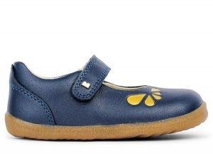 Bobux Delight  Girls Shoes Navy Petal