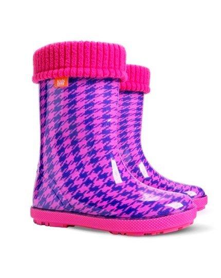 Demar Wellingtons Pink
