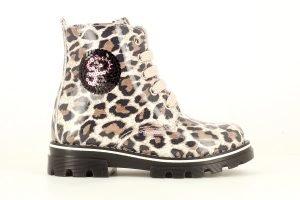 Pablosky 489731 Girls Boots Beige/Leopard Print