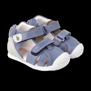 Biomecanics 212143 Baby Boy First Sandals  Petrol Blue
