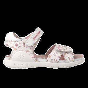 Biomecanics 212165 Girls Sandals Leather White/Multi