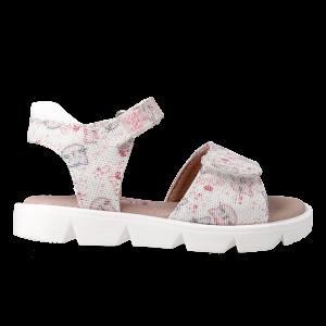 Garvalin212326 Girls Sandals White/Multicolour