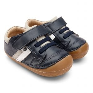 OldSoles Shield Pave Baby Boy Prewalkers Leather Navy