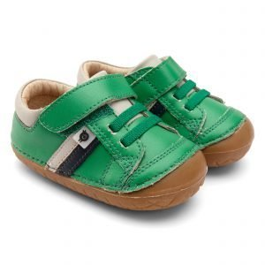 OldSoles Shield Pave Baby Boy Prewalkers Leather Green