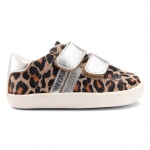 OldSoles Sport Glam Girl Sneakers Leather Leopard Print