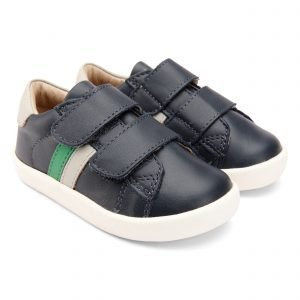 OldSoles Toddy Sport Boys Sneakers Leather Navy