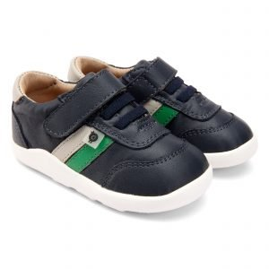 OldSoles Play Ground Toddler Boys Sneakers Leather Navy