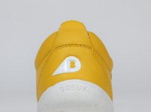 Bobux Grass Court Step Up First Shoes Unisex Lemon