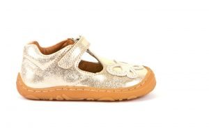 Froddo Minnie Rosa G2140054-1 Girls First Shoes Leather Rose Gold