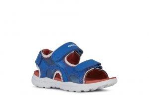 Geox Vaniett Water Friendly Boys Sandals Royal/Red