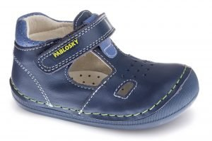 Pablosky 090322 First Steps Baby Boy Shoes Navy