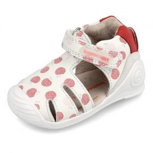 Biomecanics 202115 Baby Girl First Shoes White