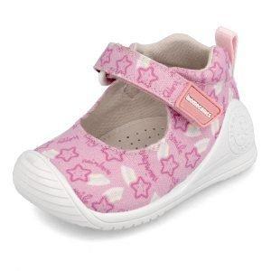 Biomecanics 202204 Baby Girl Canvas Shoes Pink