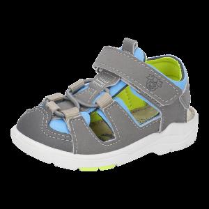 Ricosta Gery Boys Sandals Grey/Sky Blue