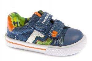 Pablosky 961110 Boys Canvas Shoes Denim Jeans