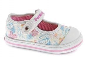 Pablosky 961400 Girls Canvas Shoes Multicolour Glitter
