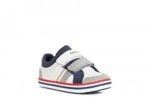 Geox Kilwi Boys Sneakers White/Grey