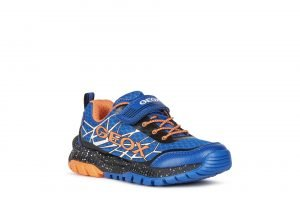 Geox Tuono Boys Runners Royal/Orange