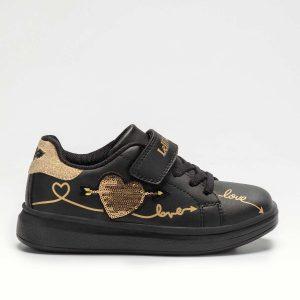 Lelli Kelly Clelia LK5823 Girls Sneakers Black/Gold