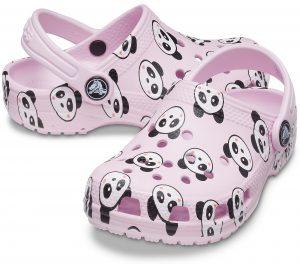 Crocs Kids Classic Clog Panda Print