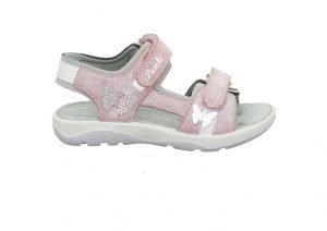 Lurchi Salamander Fia Girls Sandals Pink