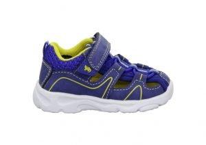 Lurchi Bort Boys Lightweight Sandals Cobalt Yellow