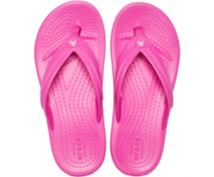 Crocs Kids Crocband Flip Electric Pink