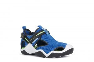 Geox JR Wader Water Safe Boys Sandals Royal/Fluogreen