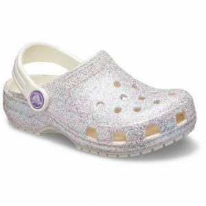 Crocs Kids Classic Glitter Clog