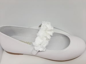 TNY by Tinny Shoes 16229 Girls Holy Communion Shoes White