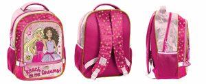 PASO BAS-260 School Backpack Barbie