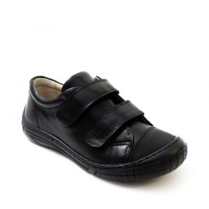 Petasil 6038 Linus Boys Leather Shoe Black