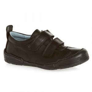 Petasil Franz 5659 Boys Leather Shoes Black