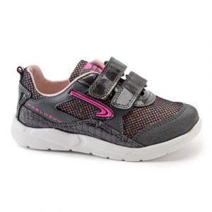 Pablosky 288259 Girls Runners Grey Shimmer