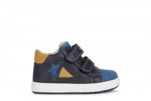 Geox Biglia Boys Ankle Boots Navy/Blue