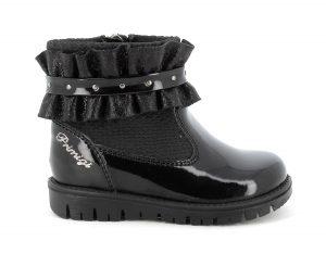 Primigi 8361911Girls Boots Black Patent