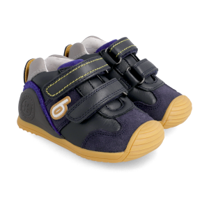 Biomecanics 211133 Boys First Shoes Navy