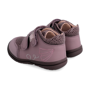 Garvalin 211606 Baby Girl Ankle Boots Dk Pink