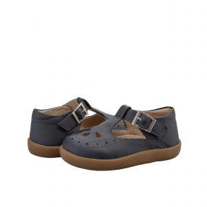 OldSoles Royal Shoe Girls T Bar Navy
