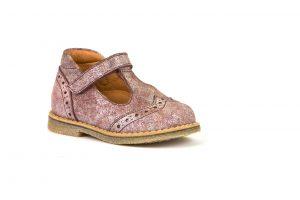 Froddo G2140055-2 Girls T-bar Shoes Pink Shine