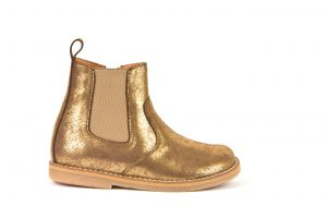 Froddo Chelsea Boots Gold Colour
