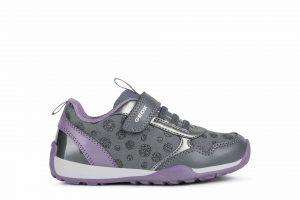 Geox Jocker Plus Girls Sneakers Grey/Purple