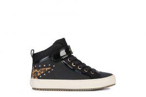 Geox Kalispera Girls Ankle Boots Black