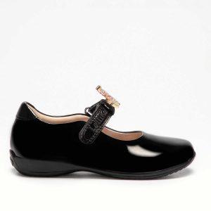 Lelli Kelly LK8110 Bliss2 F Girls School Shoes Black Patent
