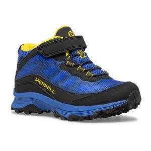Merrell Moab Speed Mid A/C Waterproof Blue/Blk/Yellow